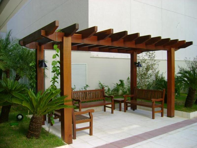 Pergolados visual madeiras e tratamentos 47 3352 4190 - Tipos de pergolas ...